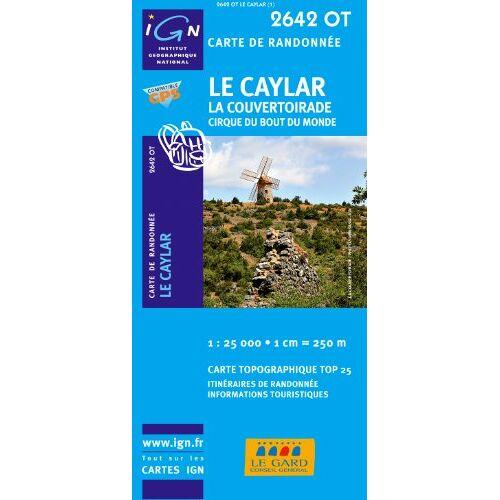 IGN - Le Caylar - La Couvertoirade 1 : 25 000: Cirque du bout du monde (Ign Map) - Preis vom 17.04.2021 04:51:59 h