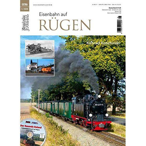 Konrad Koschinski - Eisenbahn auf Rügen - Eisenbahn Journal Extra 1-2020 - Preis vom 11.04.2021 04:47:53 h