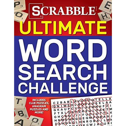 Editors of Media Lab Books - Scrabble Ultimate Word Search Challenge: Includes Clue Puzzles, Anagram Puzzles and More! (Ultimate Puzzle Books) - Preis vom 06.05.2021 04:54:26 h