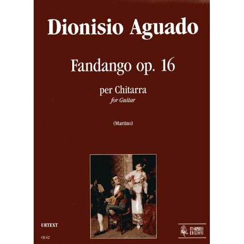 - Fandango Op 16. Gitarre - Preis vom 20.01.2021 06:06:08 h