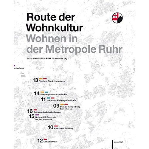 Büro STADTIDEE - Route der Wohnkultur: Wohnen in der Metropole Ruhr - Preis vom 05.05.2021 04:54:13 h