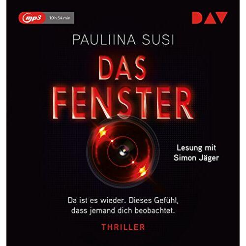 Pauliina Susi - Das Fenster: Lesung mit Simon Jäger (1 mp3-CD) - Preis vom 21.10.2020 04:49:09 h