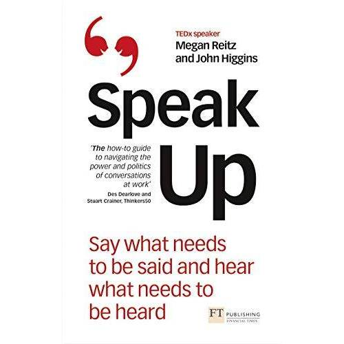 Megan Reitz - Reitz, M: Speak Up - Preis vom 17.10.2020 04:55:46 h