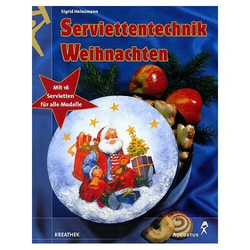 Sigrid Heinzmann - Serviettentechnik Weihnachten, m. 16 Servietten - Preis vom 18.10.2020 04:52:00 h