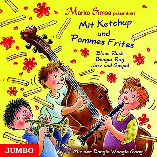 Marko Simsa - Mit Ketchup und Pommes Frites: Blues, Rock, Boogie, Rag, Jazz und Gospel - Preis vom 18.04.2021 04:52:10 h