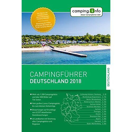 Camping.Info GmbH - Campingführer Deutschland 2018 - Preis vom 24.05.2020 05:02:09 h