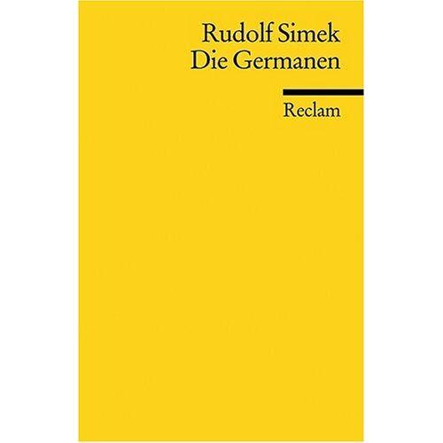 Rudolf Simek - Die Germanen - Preis vom 18.04.2021 04:52:10 h
