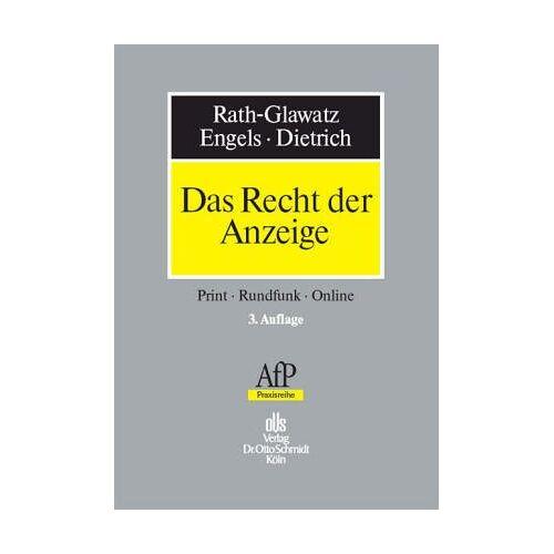 - Das Recht der Anzeige - Preis vom 09.04.2021 04:50:04 h