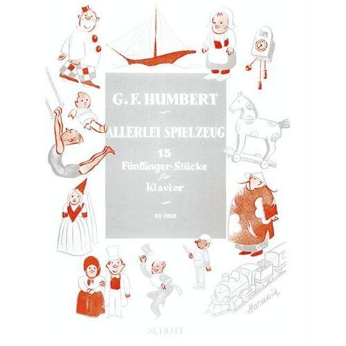 - Allerlei Spielzeug: 15 Fünffinger-Stücke. Klavier. - Preis vom 14.05.2021 04:51:20 h