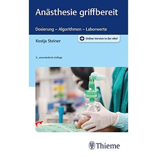 Kostja Steiner - Anästhesie griffbereit - Preis vom 12.05.2021 04:50:50 h