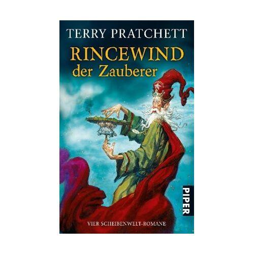 Terry Pratchett - Rincewind, der Zauberer: Vier Scheibenwelt-Romane (Die Farben der Magie . Das Licht der Phantasie . Der Zauberhut . Eric) - Preis vom 19.10.2020 04:51:53 h