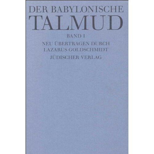 - Der Babylonische Talmud (12 Bde) - Preis vom 16.04.2021 04:54:32 h
