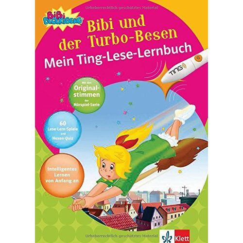 Vincent Andreas - Bibi Blocksberg - Bibi und der Turbo-Besen: Mein Ting-Lese-Lernbuch. Lesen lernen ab 5 Jahren - Preis vom 26.01.2021 06:11:22 h