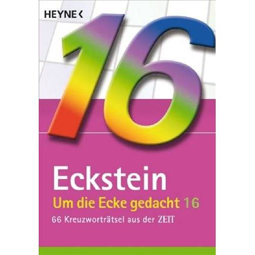 Eckstein - Um die Ecke gedacht Bd. 16: 66 Kreuzworträtsel aus der ZEIT - Preis vom 15.05.2021 04:43:31 h