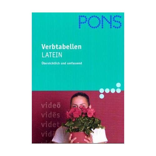 - PONS Verbtabellen, Latein - Preis vom 13.04.2021 04:49:48 h