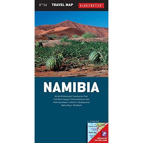 New Holland Publications LTD - Globetrotter Namibia Travel Map (Globetrotter Travel Map) - Preis vom 18.04.2021 04:52:10 h