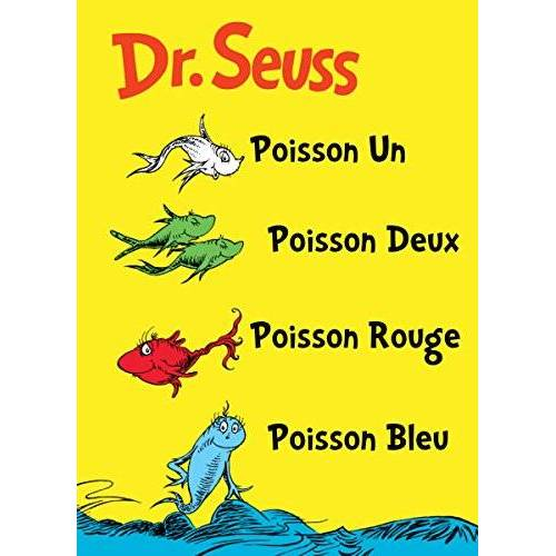 - Poisson Un Poisson Deux Poisson Rouge Poisson Bleu: The French Edition of One Fish Two Fish Red Fish Blue Fish (I Can Read It All by Myself Beginner Books (Hardcover)) - Preis vom 08.05.2021 04:52:27 h