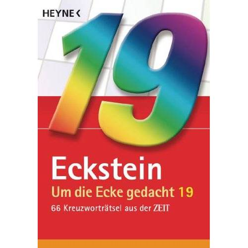 Eckstein - Um die Ecke gedacht 19: 66 Kreuzworträtsel aus der ZEIT - Preis vom 11.04.2021 04:47:53 h
