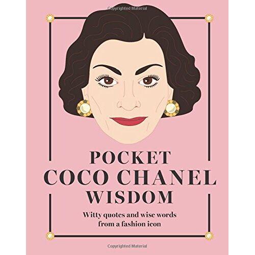 Hardie Grant Books - Pocket Coco Chanel Wisdom (Pocket Wisdom) - Preis vom 21.10.2020 04:49:09 h