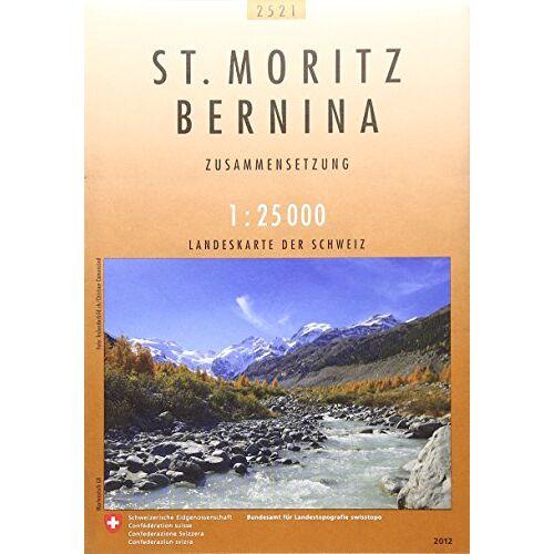 - Swisstopo 1 : 25 000 St. Moritz Bernina: Zusammensetzung - Preis vom 06.09.2020 04:54:28 h