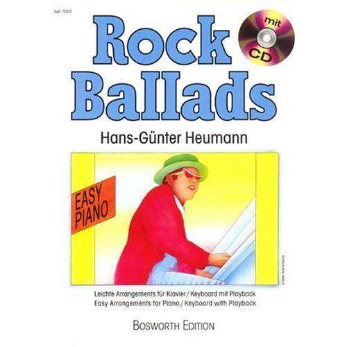Heumann, Hans G - Rock Ballads: Leichte Arrangements für Klavier mit CD - Preis vom 24.02.2021 06:00:20 h