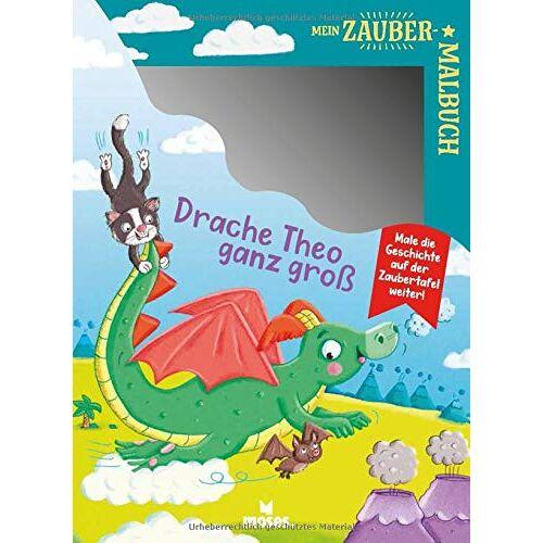 Anja Dreier-Brückner - Mein Zaubermalbuch - Drache Theo ganz groß - Preis vom 28.02.2021 06:03:40 h