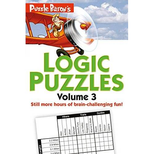 Ryder, Stephen P. - Puzzle Baron's Logic Puzzles, Volume 3: More Hours of Brain-Challenging Fun! - Preis vom 07.05.2021 04:52:30 h