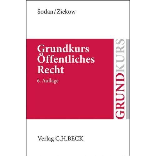 Helge Sodan - Grundkurs Öffentliches Recht: Staats- und Verwaltungsrecht (Grundkurse) - Preis vom 18.09.2019 05:33:40 h