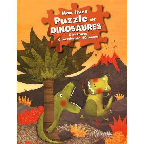 Collectif - MON LIVRE PUZZLE DE DINOSAURES - Preis vom 18.10.2020 04:52:00 h
