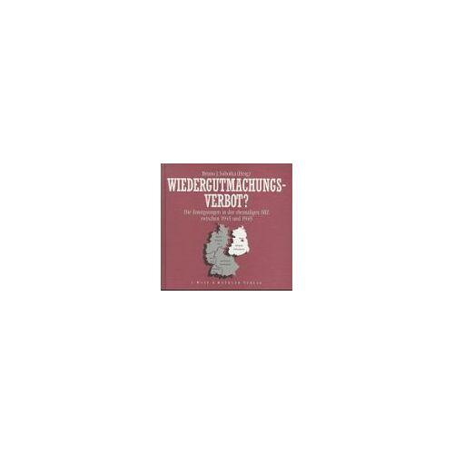 Sobotka, Bruno J. - Wiedergutmachungsverbot? - Preis vom 25.02.2021 06:08:03 h