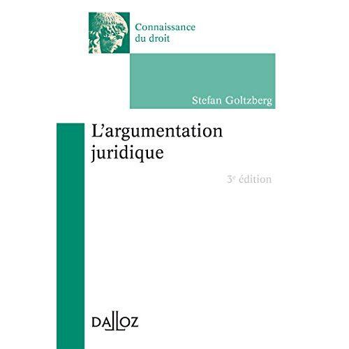 - L'argumentation juridique - Preis vom 06.09.2020 04:54:28 h