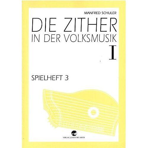 Manfred Schuler - Spielheft zu Die Zither in der Volksmusik Band 1 - Spielheft 3 - Preis vom 05.05.2021 04:54:13 h