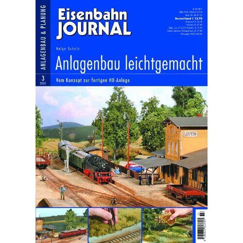 Helge Scholz - Anlagenbau leichtgemacht - Vom Konzept zur fertigen H0-Anlage - Eisenbahn Journal Anlagenbau & Planung 3-2007 - Preis vom 26.11.2020 05:59:25 h