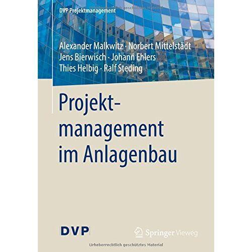 Alexander Malkwitz - Projektmanagement im Anlagenbau (DVP Projektmanagement) - Preis vom 06.05.2021 04:54:26 h
