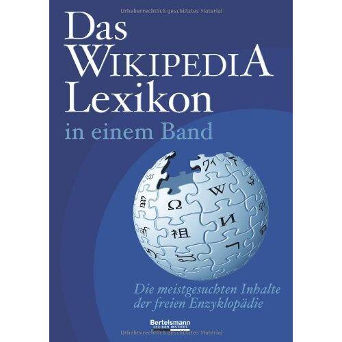 - Das WIKIPEDIA Lexikon in einem Band - Preis vom 17.04.2021 04:51:59 h