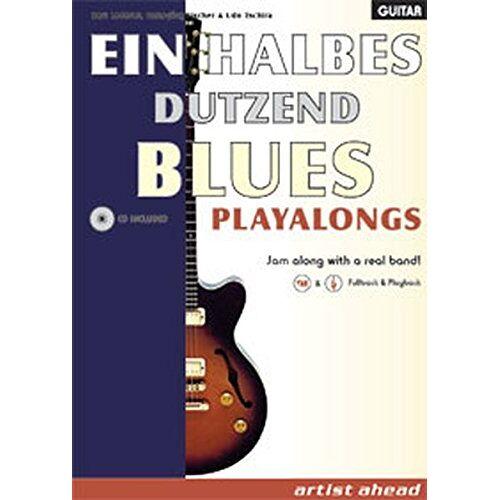 Lederer, Bert M. - Ein halbes Dutzend Blues Playalongs (Ausgabe für Gitarre) - Preis vom 25.01.2021 05:57:21 h