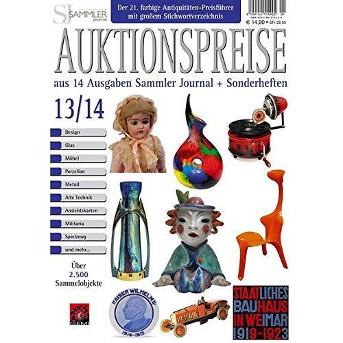 Gerd Reddersen - Auktionspreiskatalog 13/14: Auktionspreise aus 14 Ausgaben Sammler Journal und Sonderheften - Preis vom 13.04.2021 04:49:48 h
