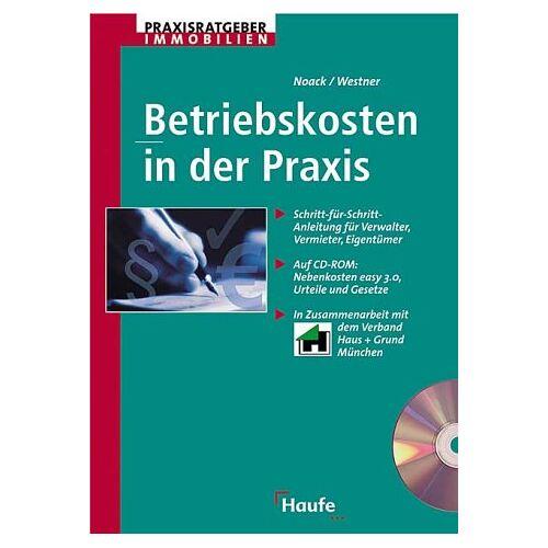 Birgit Noack - Betriebskosten in der Praxis, m. CD-ROM - Preis vom 14.01.2021 05:56:14 h