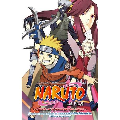 Masashi Kishimoto - Anime Comics Naruto - Naruto et la Princesse des Neiges - Preis vom 11.05.2021 04:49:30 h