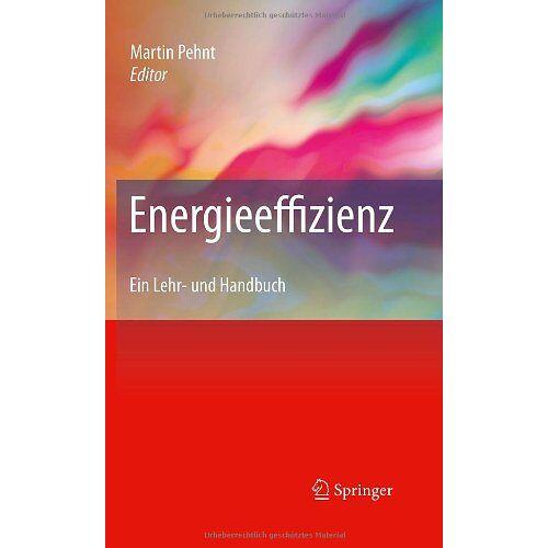 Martin Pehnt - Energieeffizienz: Ein Lehr- und Handbuch - Preis vom 17.01.2021 06:05:38 h