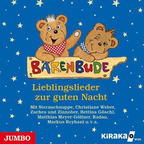 KiRaKa - Bärenbude: Lieblingslieder zur guten Nacht - Preis vom 21.10.2020 04:49:09 h