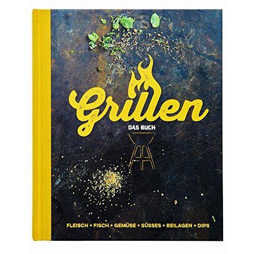Edeka Verlagsgesellschaft - Grillen - Das Buch: Fleisch, Fisch, Gemüse, Süsses, Beilagen, Dips - Preis vom 10.05.2021 04:48:42 h