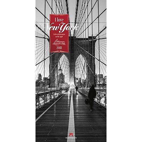 Ackermann Kunstverlag - I love New York 2018 (Literarische Reihe) - Preis vom 09.04.2020 04:56:59 h