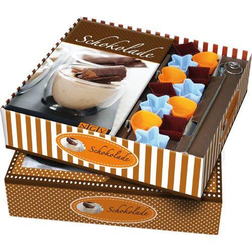 - Buch-Box Schokolade: Rezeptbuch + 12 Förmchen und Pralinen-Tauchspirale - Preis vom 05.04.2020 05:00:47 h