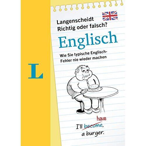 - Langenscheidt Richtig oder Falsch Englisch? Wie Sie typische Englischfehler nie wieder machen - Preis vom 13.05.2021 04:51:36 h