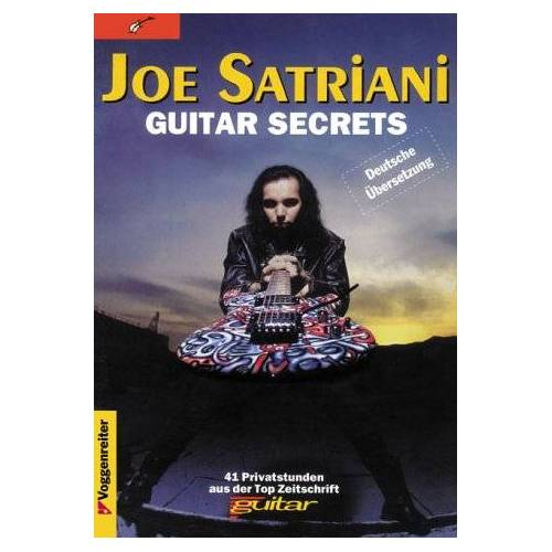 Joe Satriani - Guitar Secrets mit Tabulatur - Preis vom 12.10.2019 05:03:21 h