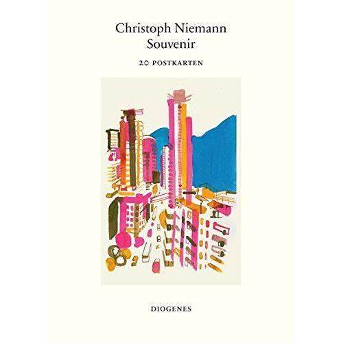 Christoph Niemann - Souvenir (Postkartenbuch): 20 Postkarten - Preis vom 07.04.2020 04:55:49 h
