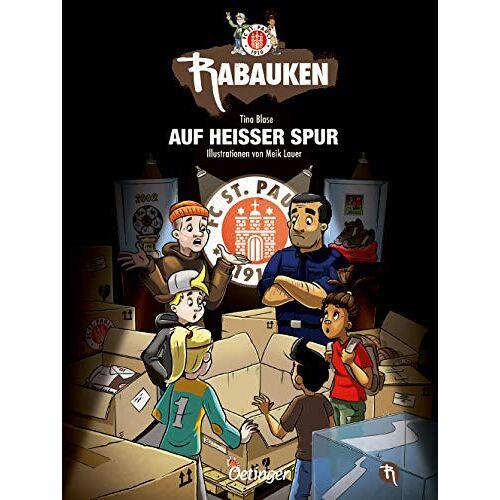 Tina Blase - FC St. Pauli Rabauken: Auf heißer Spur - Preis vom 09.04.2021 04:50:04 h