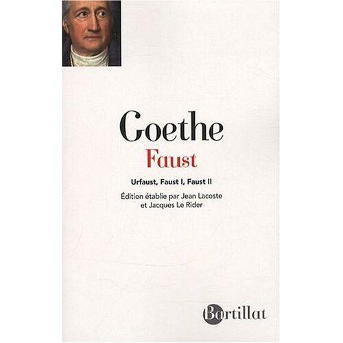 Goethe, Johann Wolfgang von - Faust : Urfaust, Faust 1, Faust 2 - Preis vom 05.09.2020 04:49:05 h