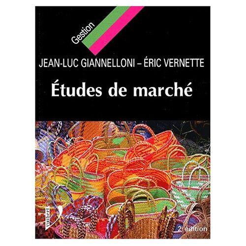 Giannelloni /Vernette - Etudes de marché - Preis vom 12.04.2021 04:50:28 h